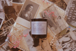 OTR Soy Candle, Slow Burn Candle
