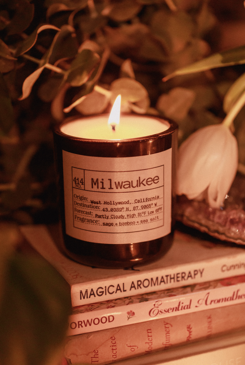 Milwaukee Soy Candle, Slow Burn Candle