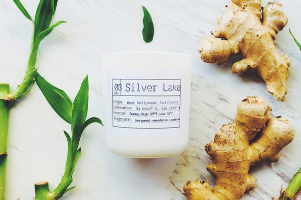 Silver Lake Soy Candle, Slow Burn Candle