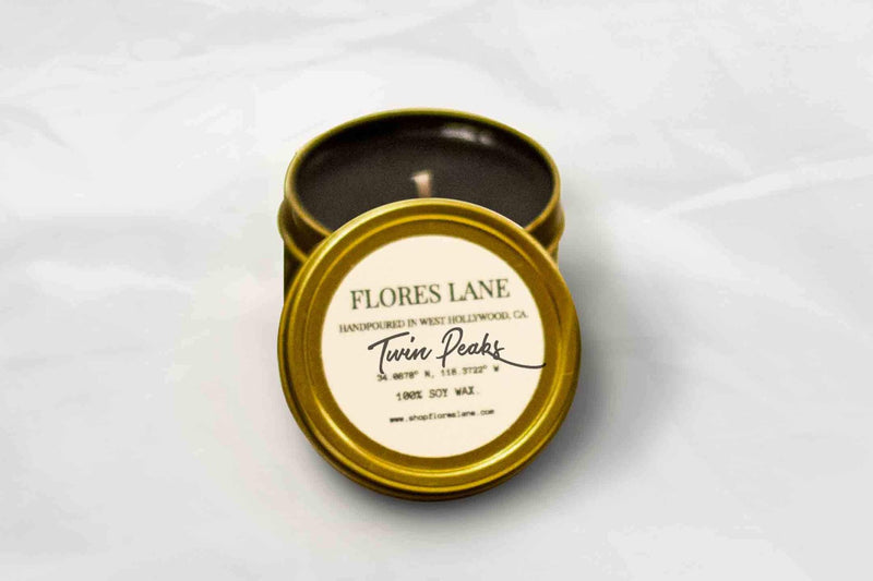 Twin Peaks Soy Candle, Slow Burn Candle