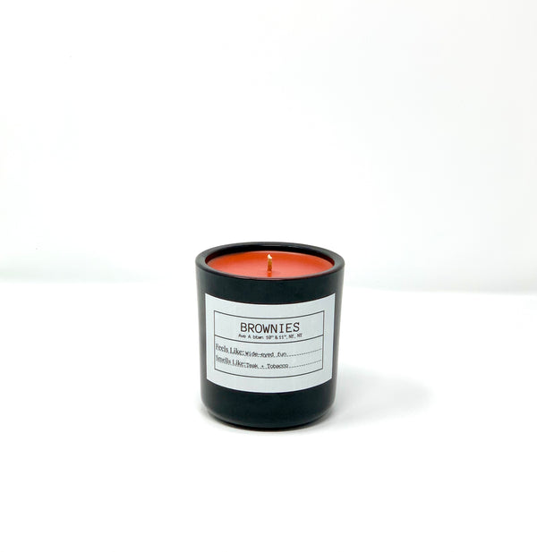 BROWNIES MMITB x FLORES LANE Soy Candle, Slow Burn Candle