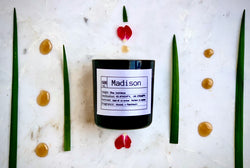 Madison Soy Candle, Slow Burn Candle