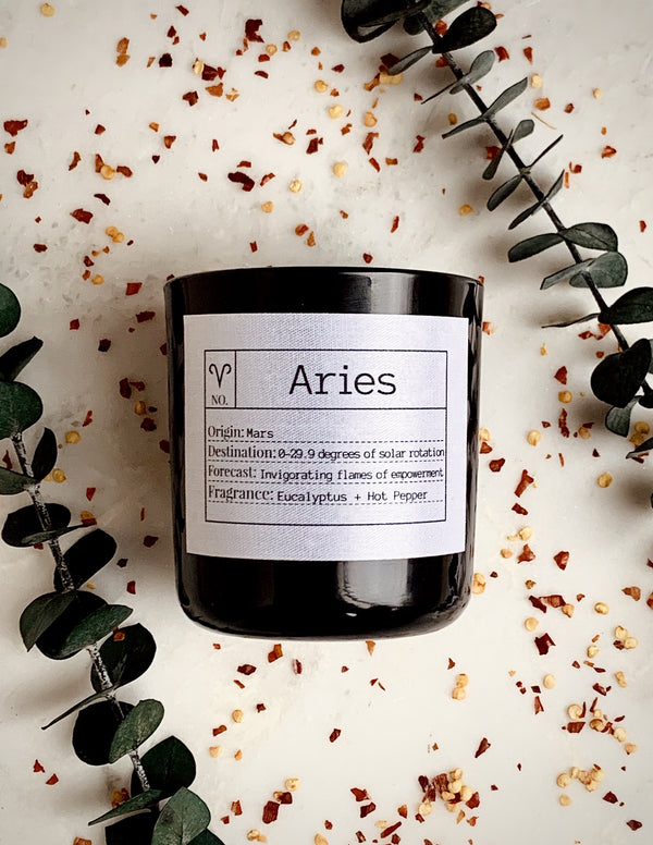 Aries Soy Candle, Slow Burn Candle