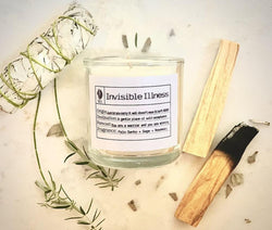 Invisible Illness Slow Burn Soy Wax Candle