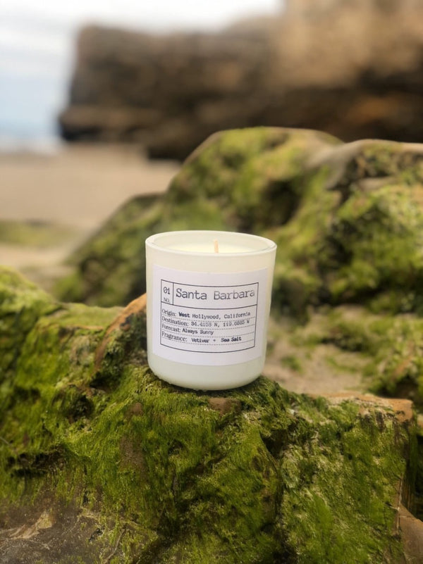 Santa Barbara Soy Candle, Slow Burn Candle