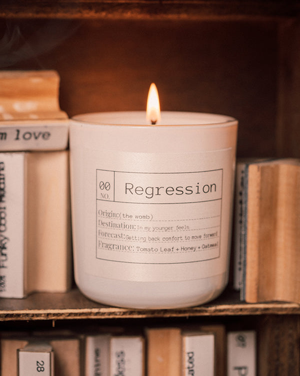 Regression Soy Candle, Slow Burn Candle