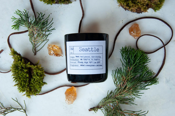 Seattle Soy Candle, Slow Burn Candle