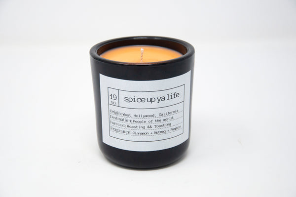 Spice Up Ya Life Soy Candle, Slow Burn Candle