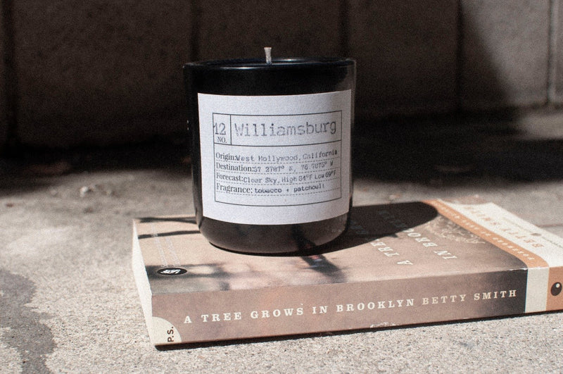 Williamsburg Soy Candle, Slow Burn Candle