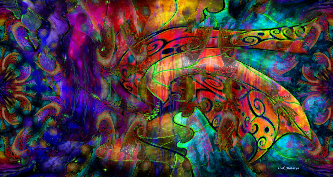Digital Contemporary Art by Izak Matatya - Image 9772