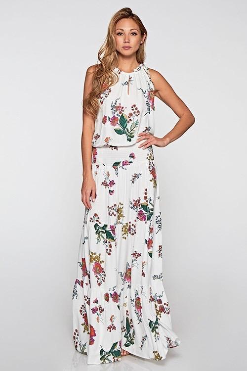Harper Maxi Dress - Vanilla - women's boutique clothing Strong Confident You