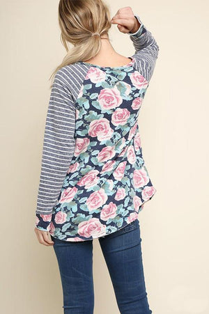 Adele Rose Top - women's boutique clothing Strong Confident You
