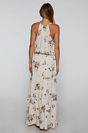 Harper Maxi Dress - Almond - women's boutique clothing Strong Confident You