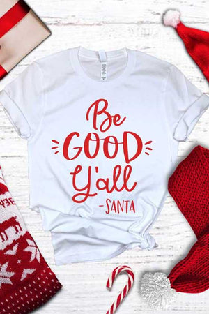 Be Good Y'all Tee - women's boutique clothing Strong Confident You