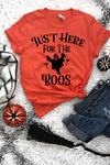Just Here For The Boos Tee - women's boutique clothing Strong Confident You