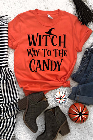 Witch Way To The Candy Tee