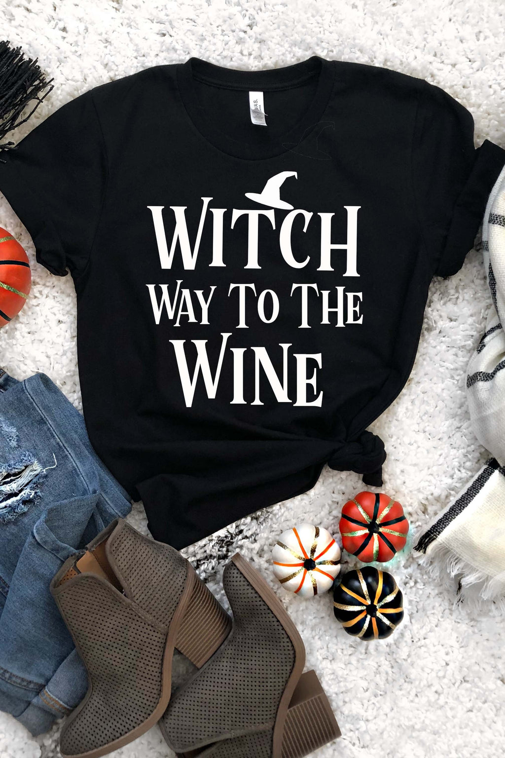 Witch Way To The Wine Tee