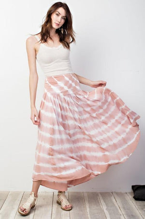 Talia Tie Dye Maxi Skirt - Strong Confident You