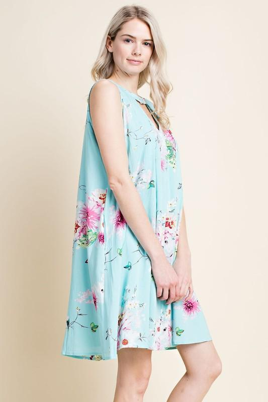 Ella Floral Dress - women's boutique clothing Strong Confident You