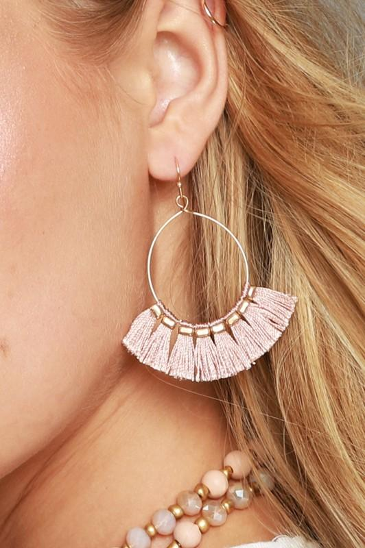 Gracie Tassle Earrings - Strong Confident You
