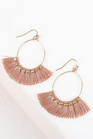 Gracie Tassle Earrings - women's boutique clothing Strong Confident You