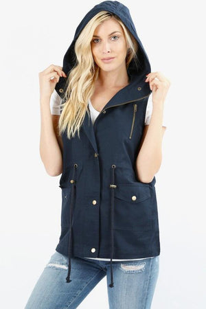 Jamie Vest - Navy - Strong Confident You