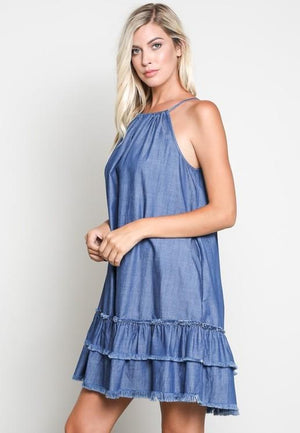 Must Have Denim Dress - Strong Confident You