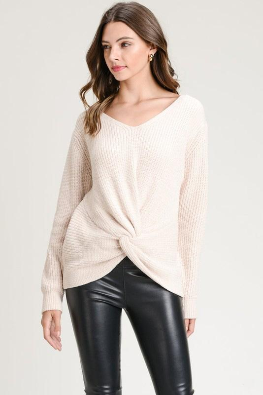 Harper Chenille Sweater - Strong Confident You