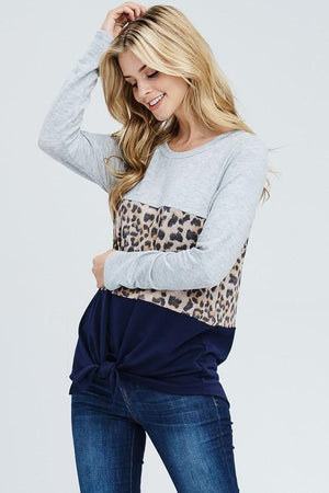 Mara Leopard Top - women's boutique clothing Strong Confident You