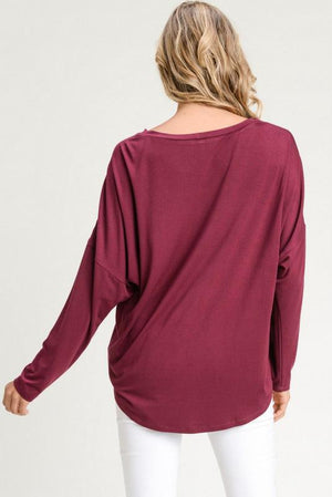 Leah Embroidered Top - Strong Confident You