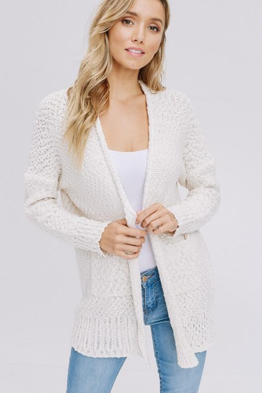 Gotta Have It Cardigan - Cream - women's boutique clothing Strong Confident You
