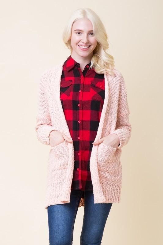 Gotta Have It Cardigan - Blush - women's boutique clothing Strong Confident You