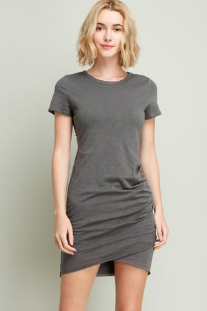 Ava Dress - Charcoal - Strong Confident You