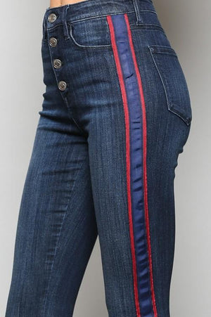 Stacy Stripe Jeans