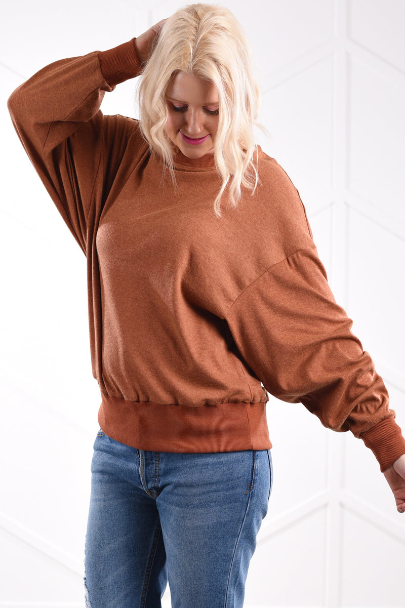 Hazel Comfy Top - women's boutique clothing Strong Confident You