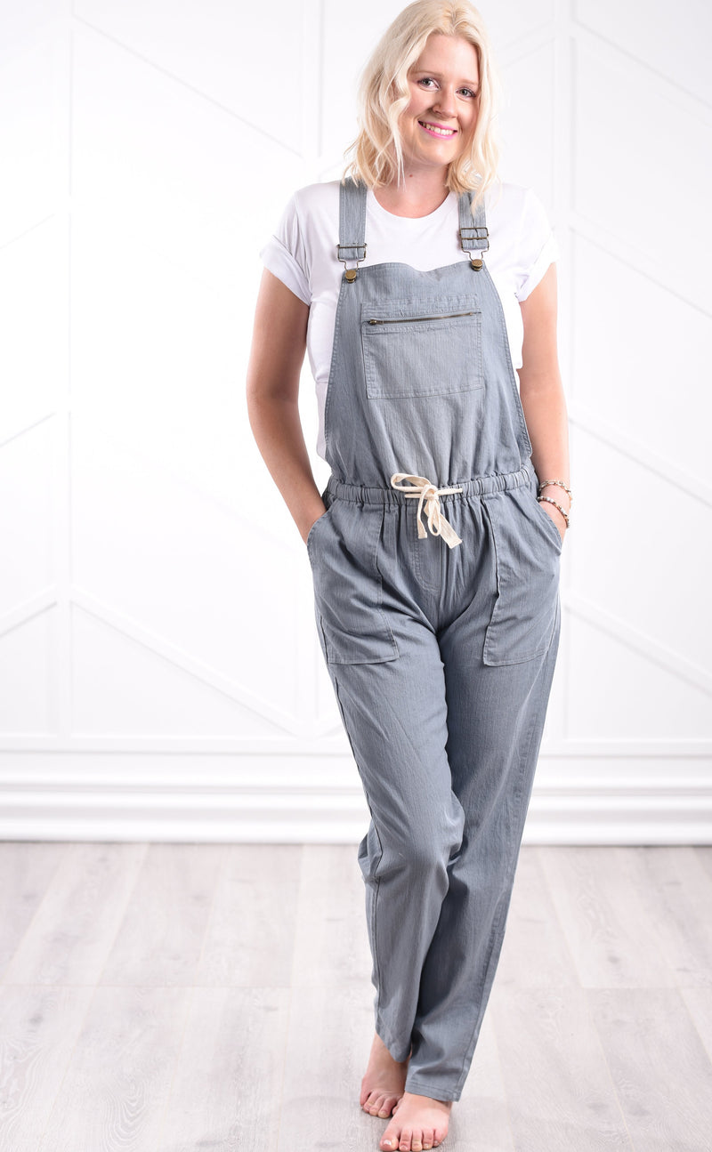 Faith Casual Overalls - women's boutique clothing Strong Confident You