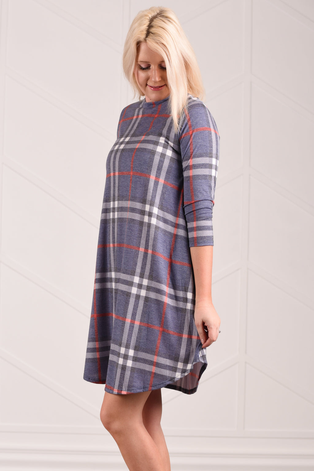 Fae Plaid Dress - Strong Confident You