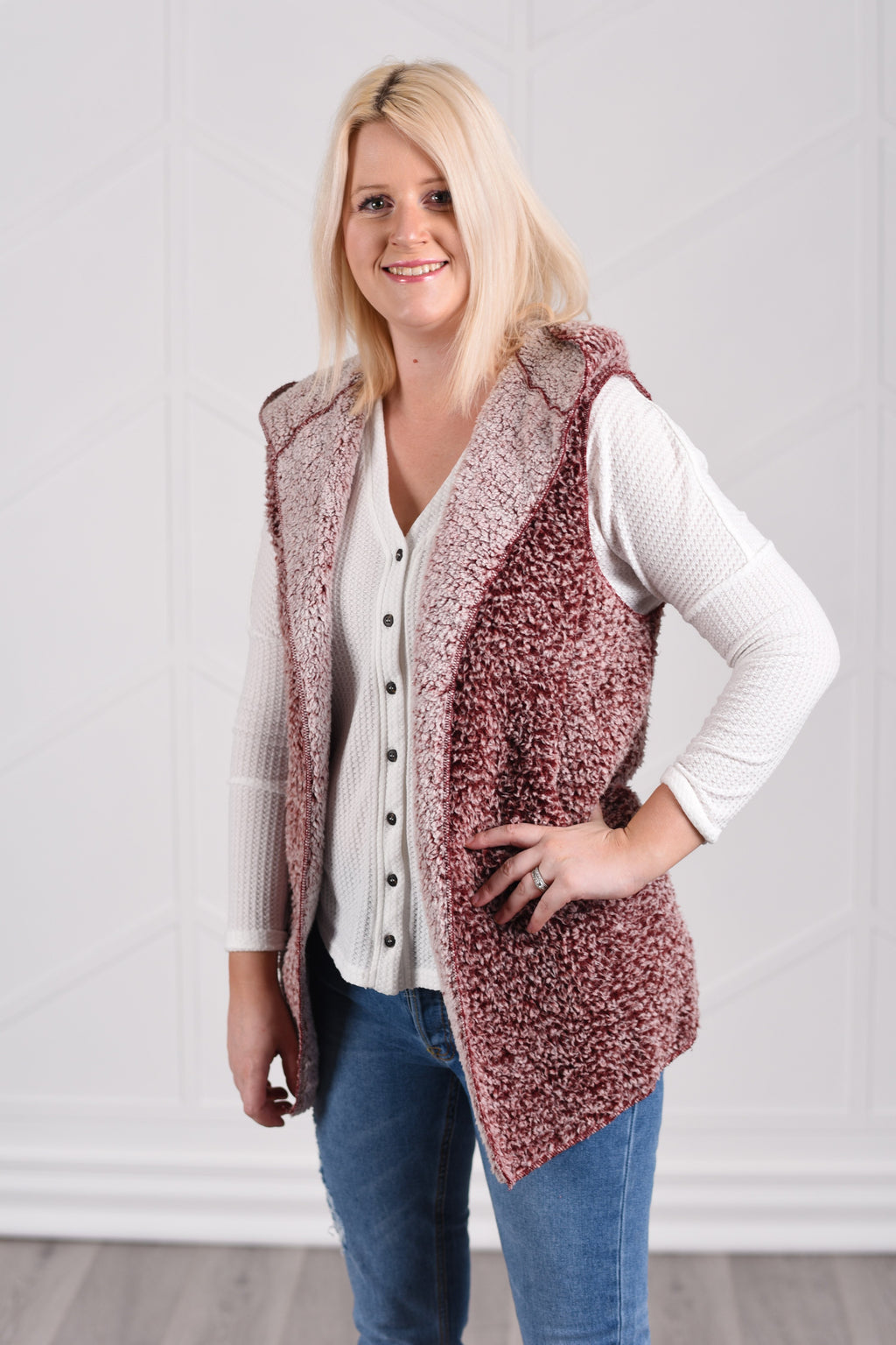 Aurora Vest - women's boutique clothing Strong Confident You
