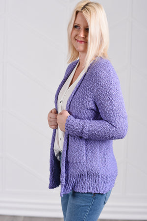 Gotta Have It Cardigan - Lilac - women's boutique clothing Strong Confident You