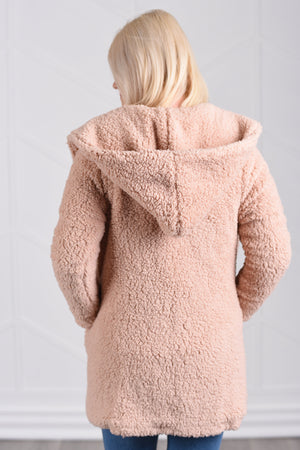 Fiona Fluffy Jacket - women's boutique clothing Strong Confident You