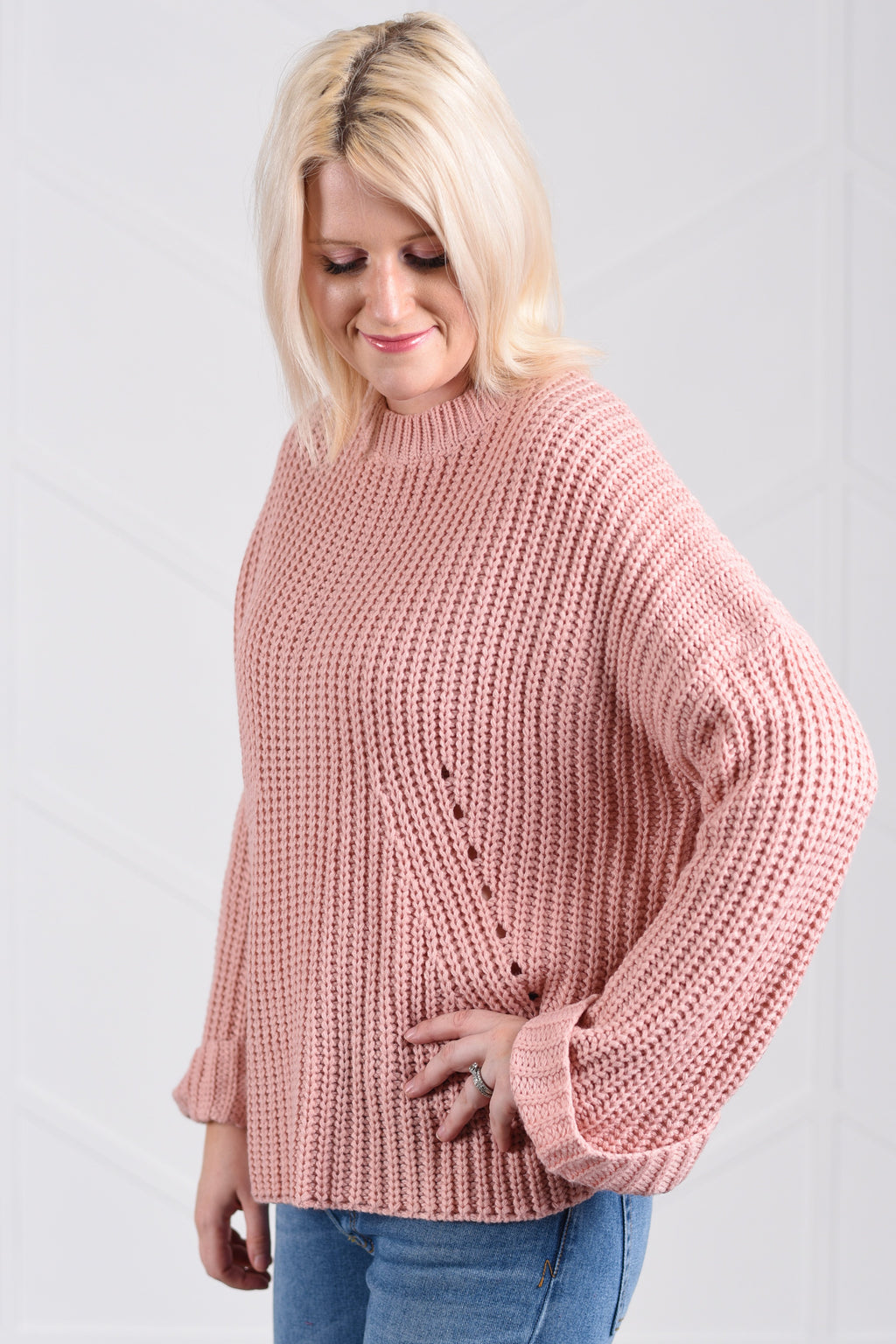 Kimberly Knitted Sweater - women's boutique clothing Strong Confident You