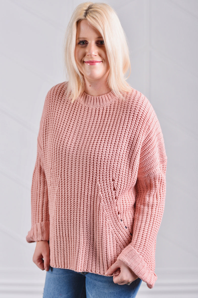Kimberly Knitted Sweater - Strong Confident You