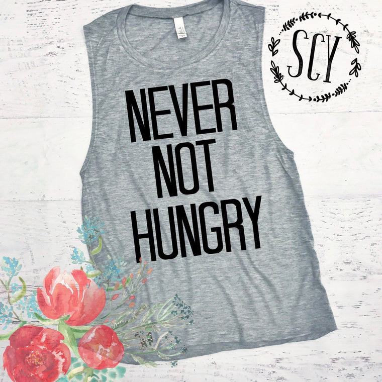 Never Not Hungry - Strong Confident You