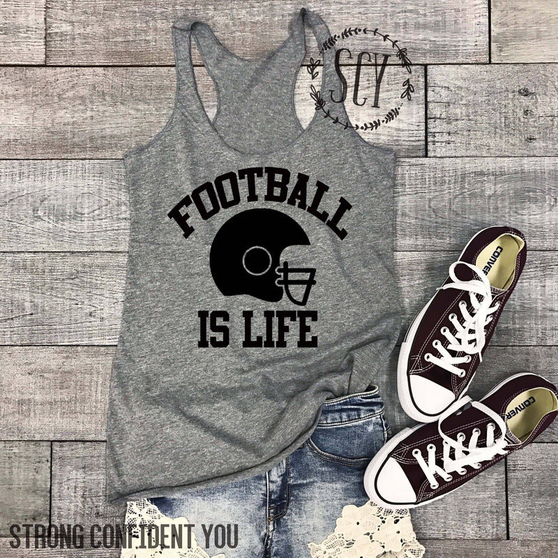 Football Is Life - women's boutique clothing Strong Confident You