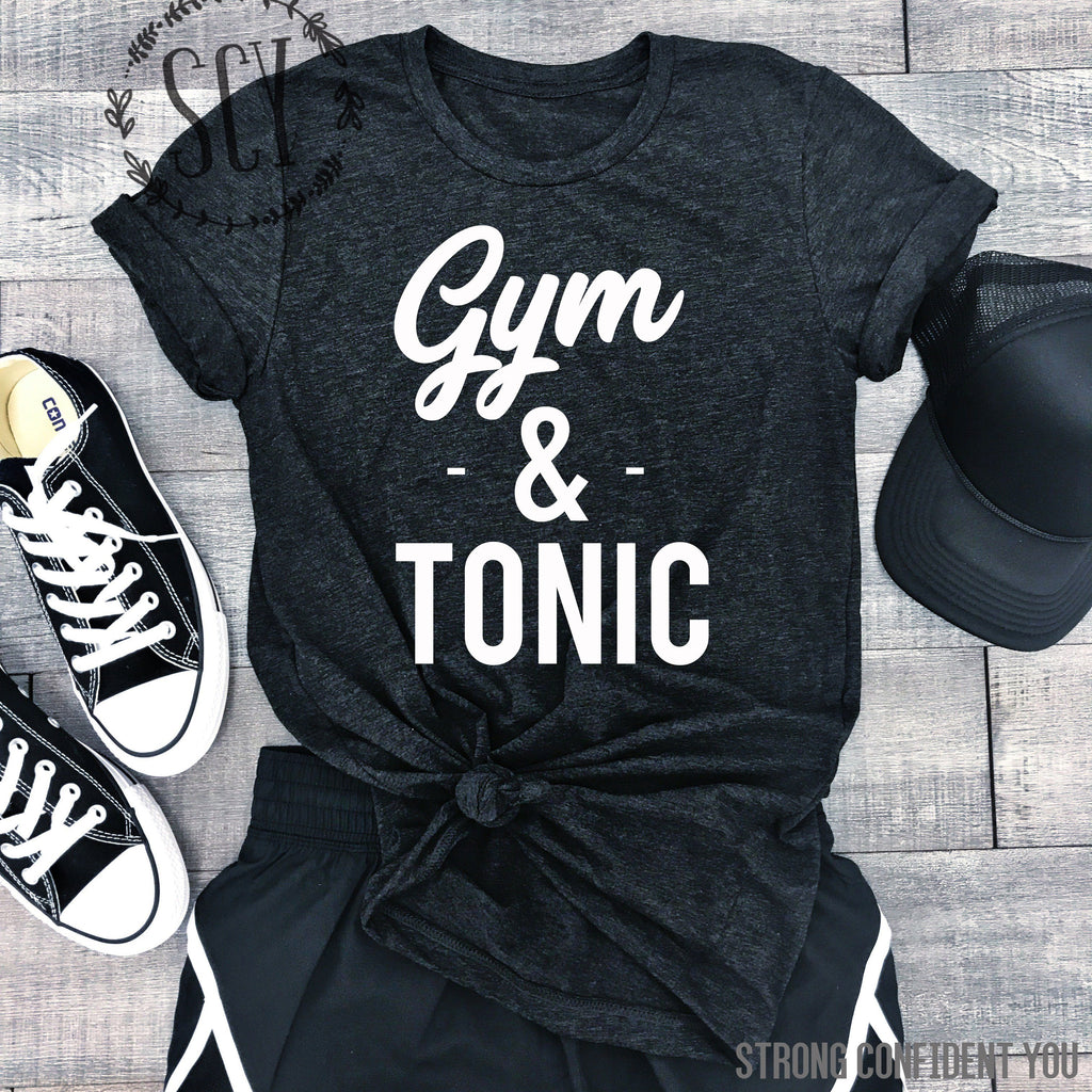 Gym And Tonic - women's boutique clothing Strong Confident You