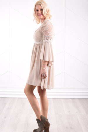 Haven Lace Dress - women's boutique clothing Strong Confident You