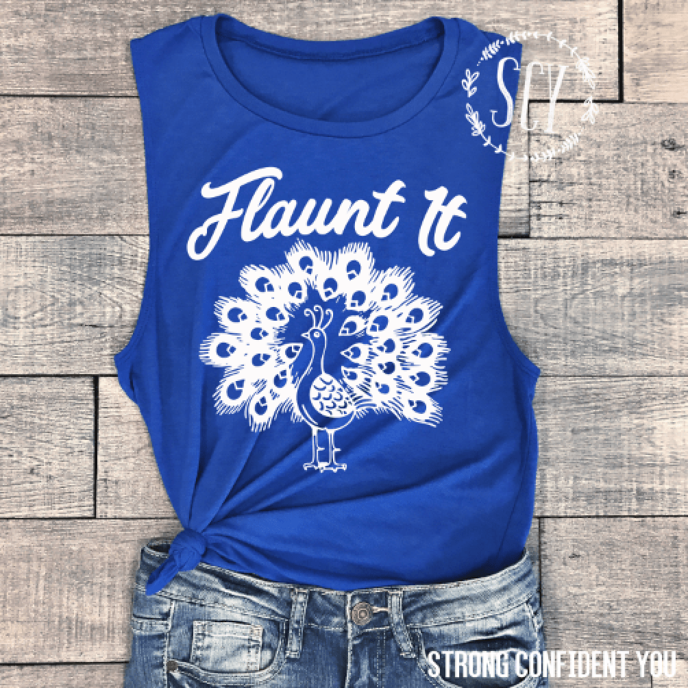 Flaunt It Muscle Tank