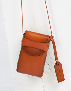 Burnt Amber Camera Pouch - women's boutique clothing Strong Confident You