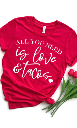 All You Need Is Love And Tacos - women's boutique clothing Strong Confident You