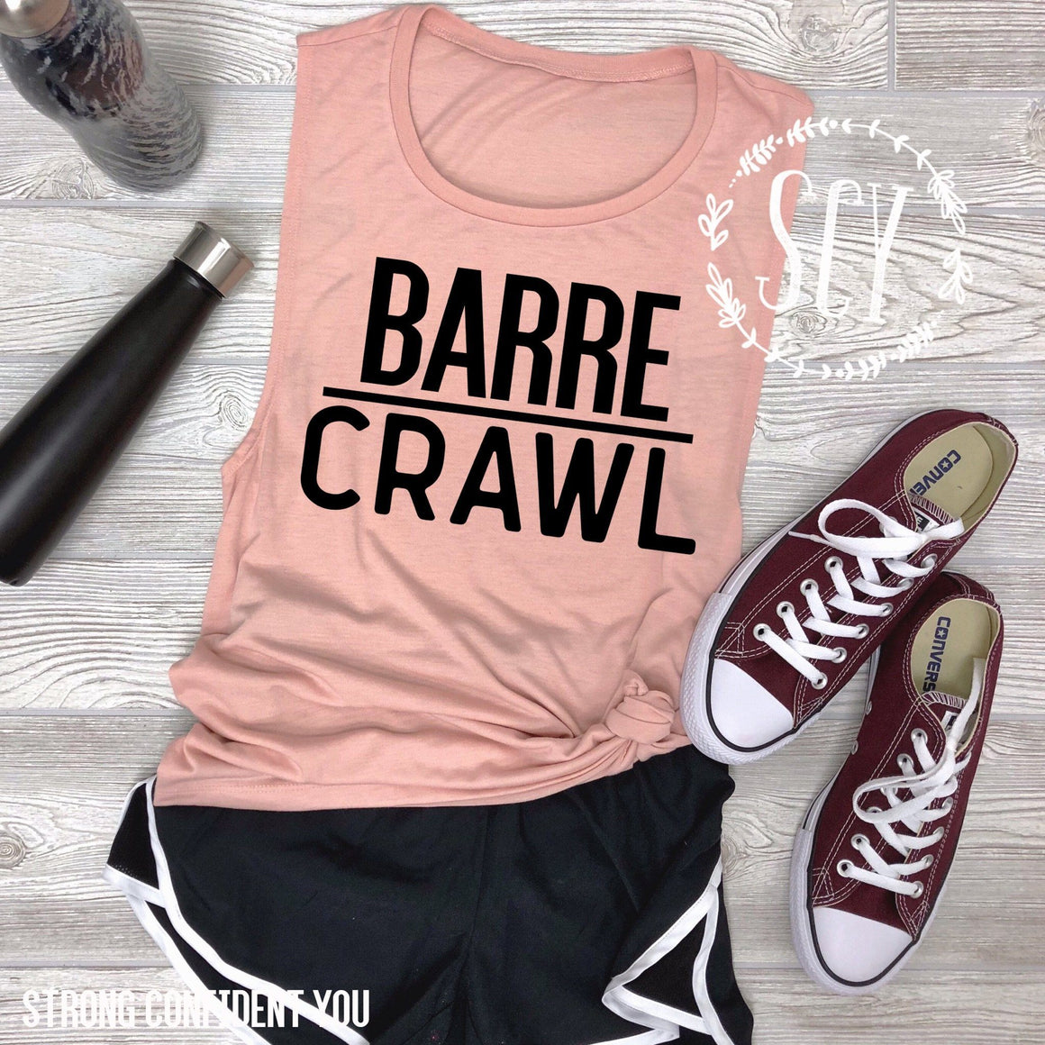 Barre Crawl - Strong Confident You